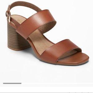 Old Navy Block-Heel Sandals - size 9